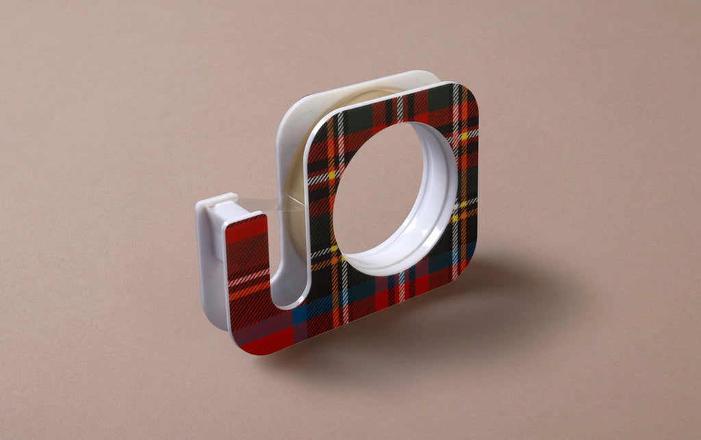 Tartan Tape Dispenser, 18mm x 25m