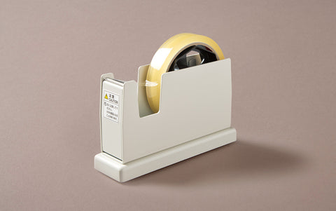 Desktop White Single Tape Dispenser