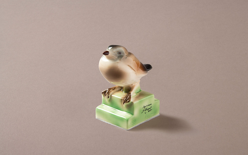 St Clement Ceramic Sparrow Bird