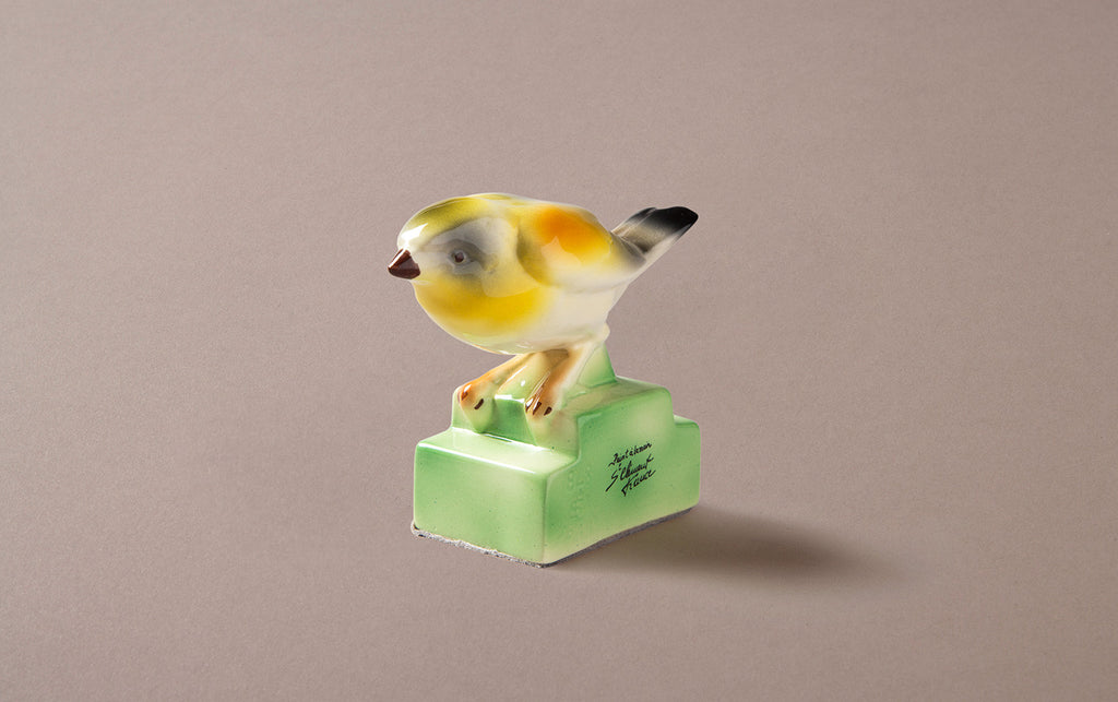 St Clement  Yellowhammer Ceramic Bird