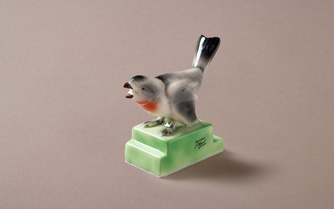 St Clement Bullfinch Ceramic Bird