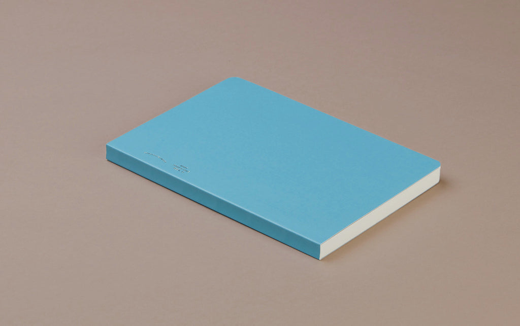 A5 Grid Diary 'Bible Paper' Notebook - Blue