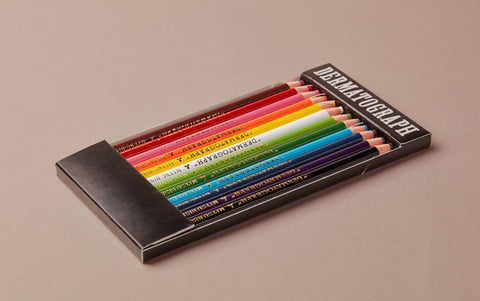 Dermatograph / Chinagraph Coloured Oil-based Pencil set