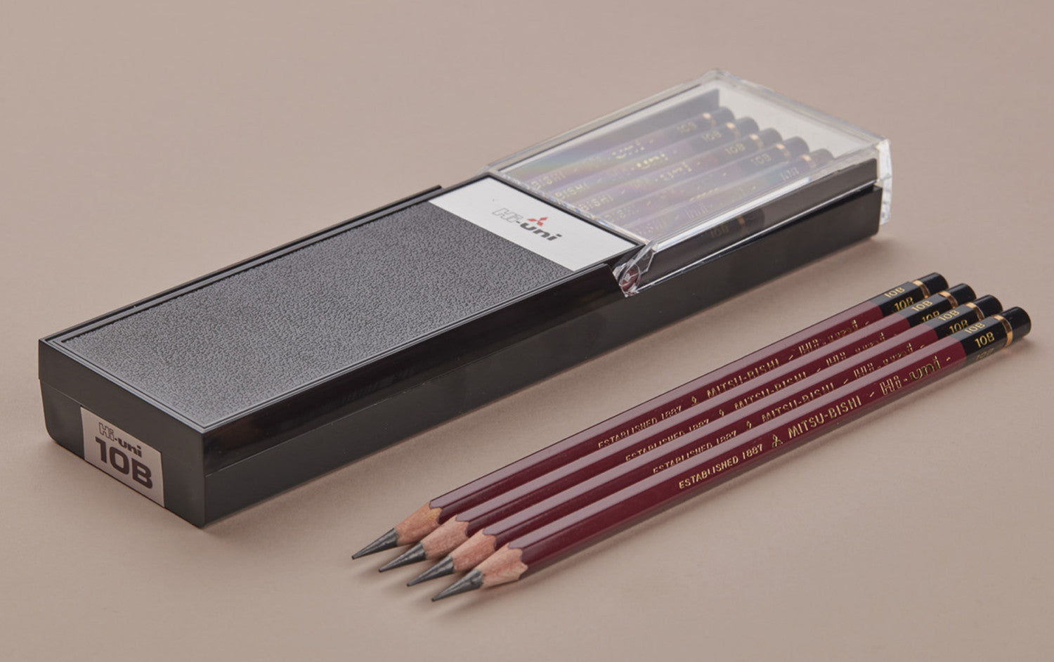 10B Mitsubishi Hi-Uni Soft Drawing Pencil