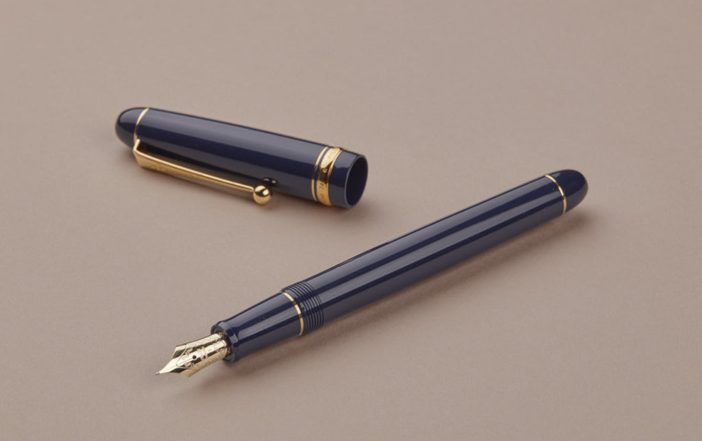 Blue Pilot Custom 74 Fountain Pen, Fine Nib
