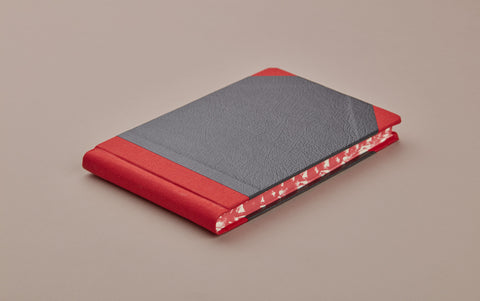 Red Sewn Bound Hardback Pocket Sketchbook