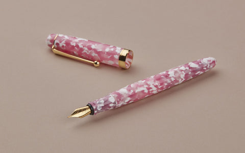 Ohnishi Seisakusho Cherry Tree Celluloid Fountain Pen