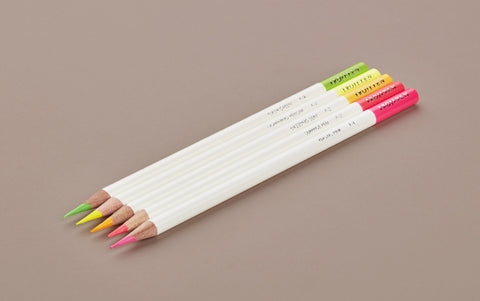 Irojiten Pencils, Neon Highlighter 5 Colour Set