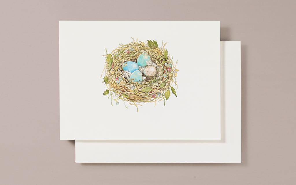 Embossed Nesting Greeting Card