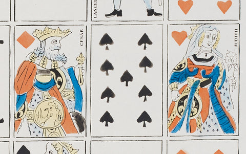 Antoinette Poisson Papier Dominoté Playing Cards
