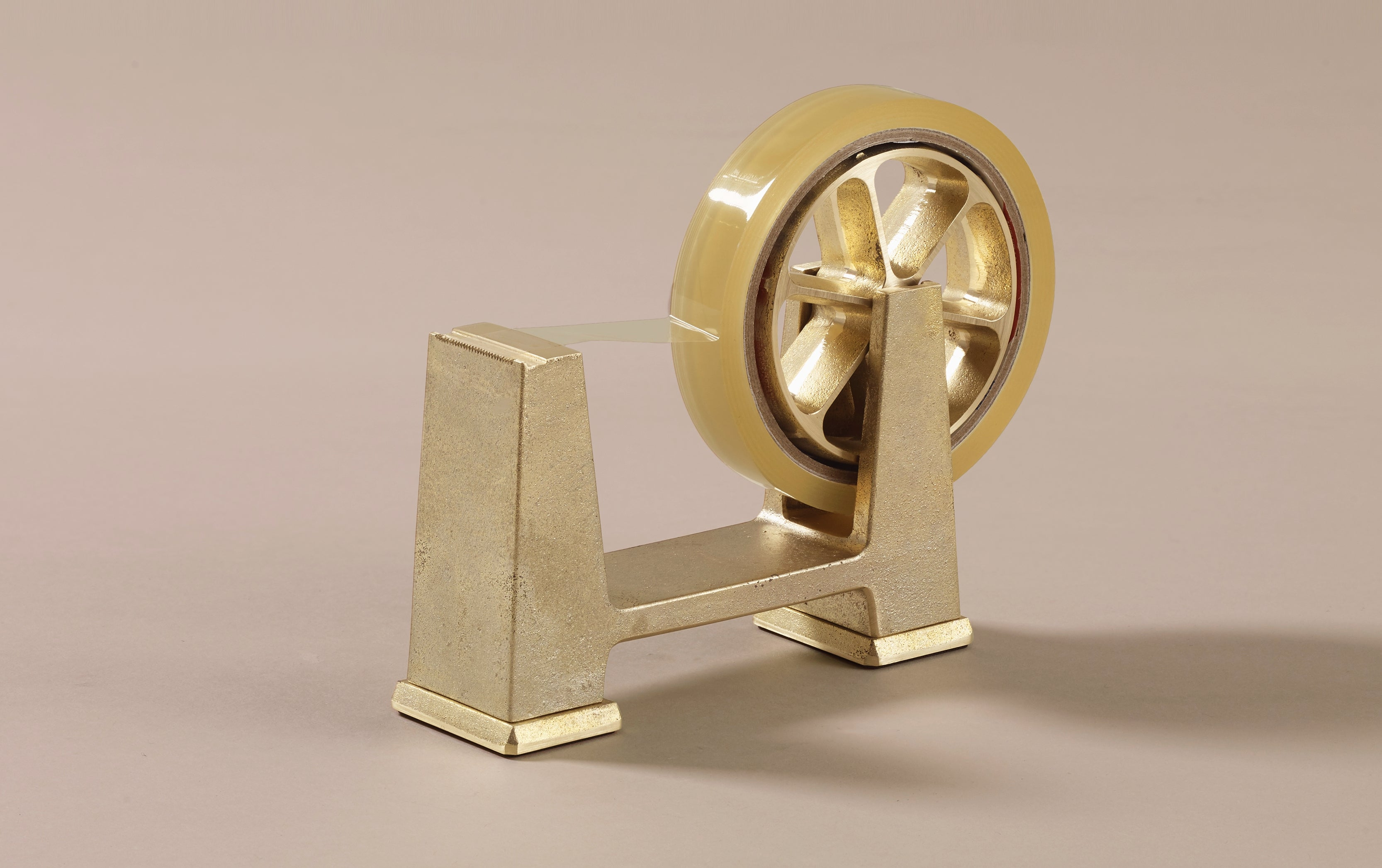 Wabi-Sabi Japanese Brass Tape Dispenser