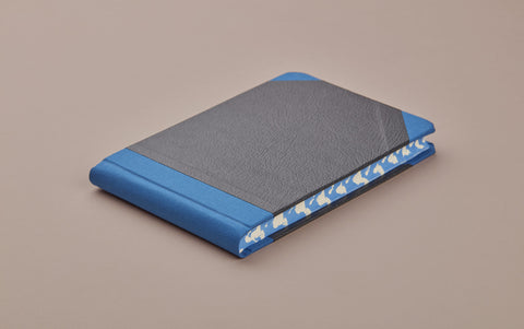 Blue Sewn Bound Hardback Pocket Sketchbook