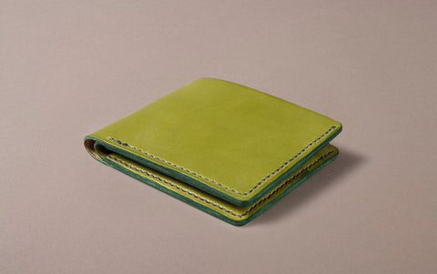 Moss Green Choosing Keeping Large Folding Wallet