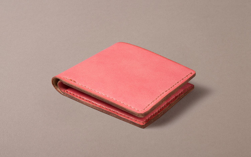 Pink Choosing Keeping Large Folding Wallet