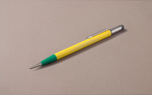 Yellow Dual-tone Choosing Keeping 1.1mm Mechanical Pencil