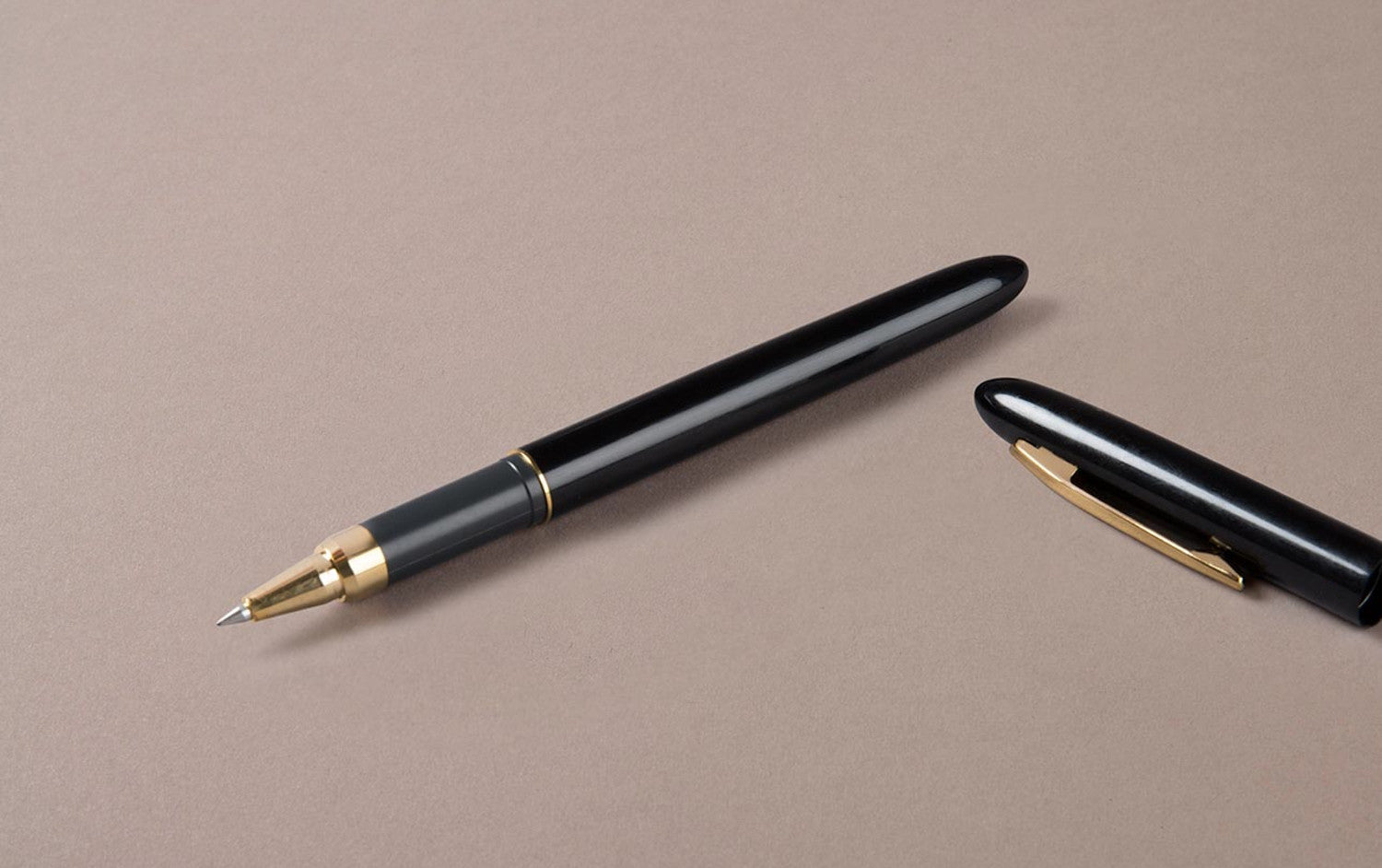 Extra Smooth Black Ceramic Rollerball Pen