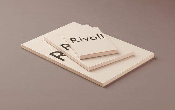 Pink Rivoli Writing Paper Pad