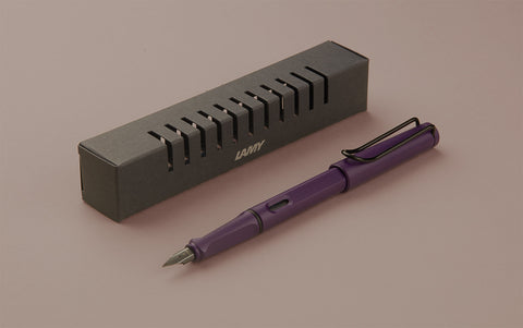 2016 Matte Lilac Lamy Safari Fountain Pen
