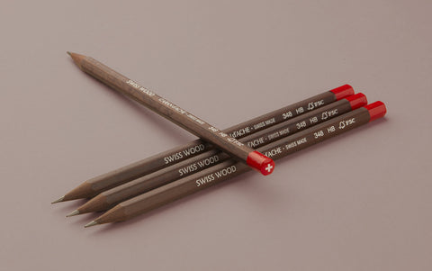 Caran d'Ache Swiss Wood 348 HB Pencil