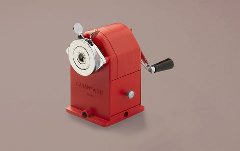 Caran d'Ache Red Desktop Sharpening Machine