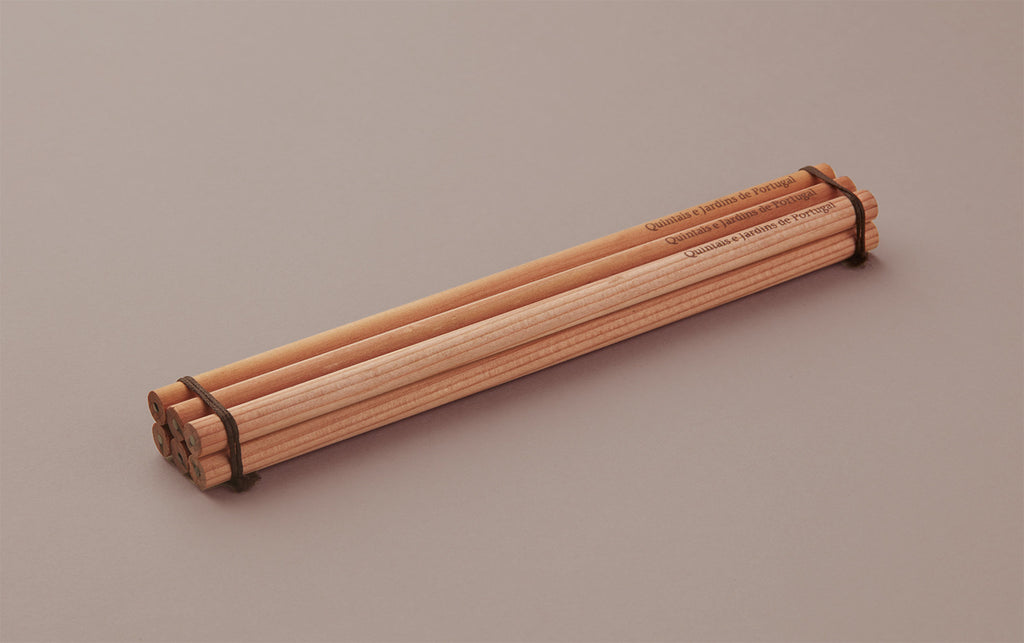 Scented Wood Pencils - Jasmine, Lily of the Valley, Peony