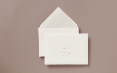Glassine Envelopes, various sizes