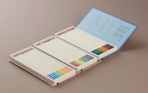 Irojiten Pencils, 30 coloured pencils, Part 2 - Woodlands