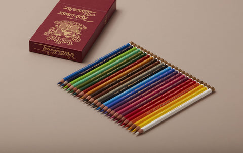 Koh-I-Noor Polycolor Coloured Pencils, set of 24