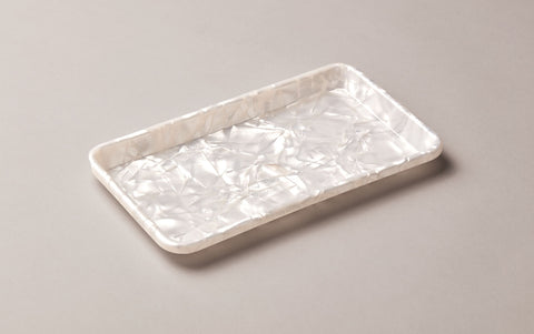 Mother of Pearl Celluloid Pen Tray