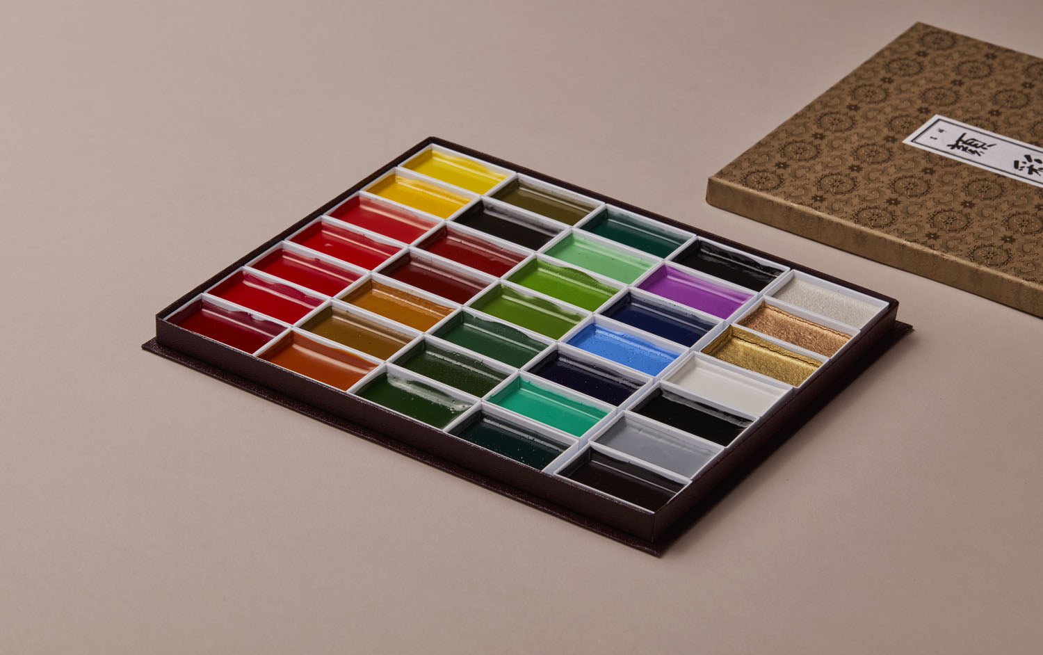 35 Colours Japanese Watercolour set