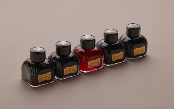 Premium British Fountain Pen Ink Bottle, 80ml