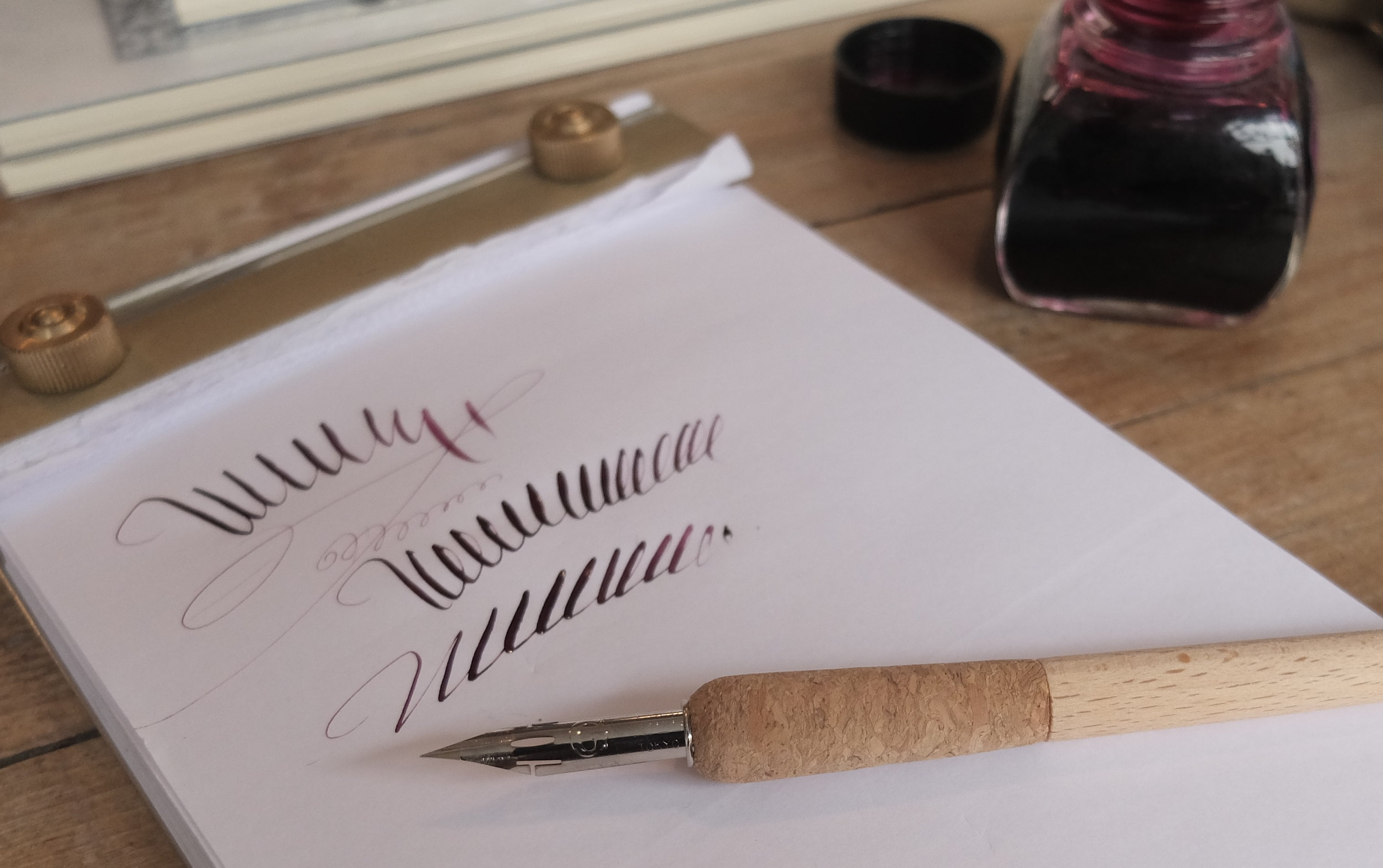 Flexible Calligraphy and Drawing Zebra G Nib