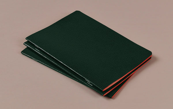 Dark Green Choosing Keeping A5 Large Notebook