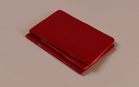 Red Choosing Keeping Medium Notebook