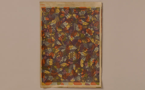 J Jeffery Paper, Venice Bouquet Pattern No. 2