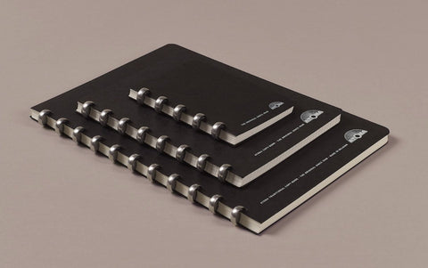 Aluminium ring Atoma Notebook, Dotted