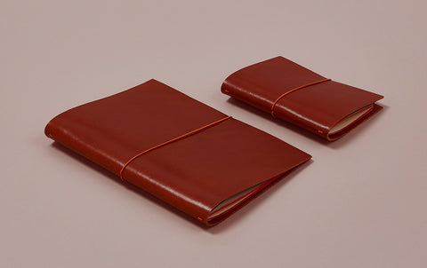 Choosing Keeping notebook leather cover
