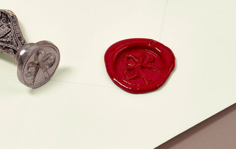 French Wax Seal, Romantic Ribbons