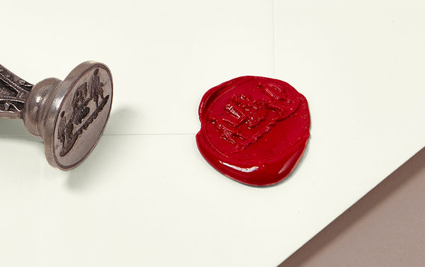 French Wax Seal, Georgian Sedan Chair