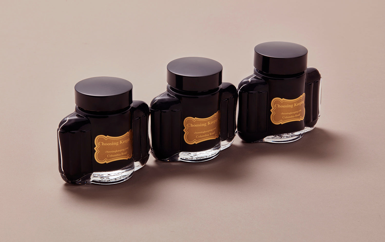 Choosing Keeping Art Deco Fountain Pen Ink Bottle, 70ml