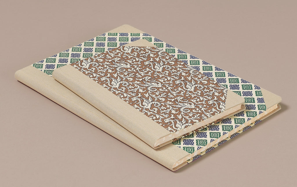 "Hardback ""Composition Ledger"" Notebook, Cream Spine"