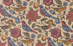 J Jeffery Paper, Small Birds Pattern No. 5