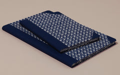 "Hardback ""Composition Ledger"" Katazome Notebook, Ikat"
