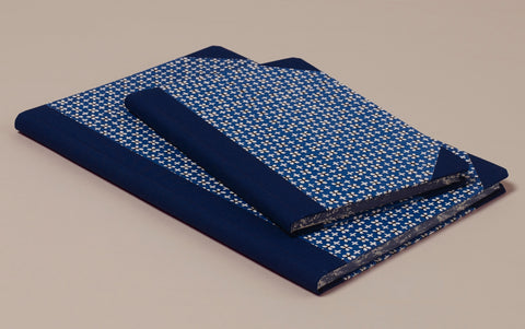 "Hardback ""Composition Ledger"" Katazome Notebook, Dainty Floral"