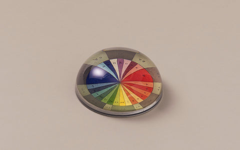John Derian Paperweight, Colour Wheel