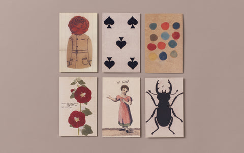 Set of 6 Victorian Ephemera Postcards, No 3