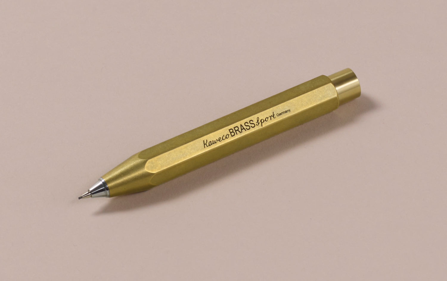 Brass Kaweco Sport 0.7mm Mechanical Pencil