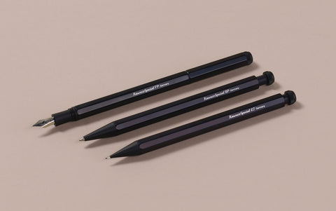 Aluminium Black Kaweco Special Long Mechanical Pencil