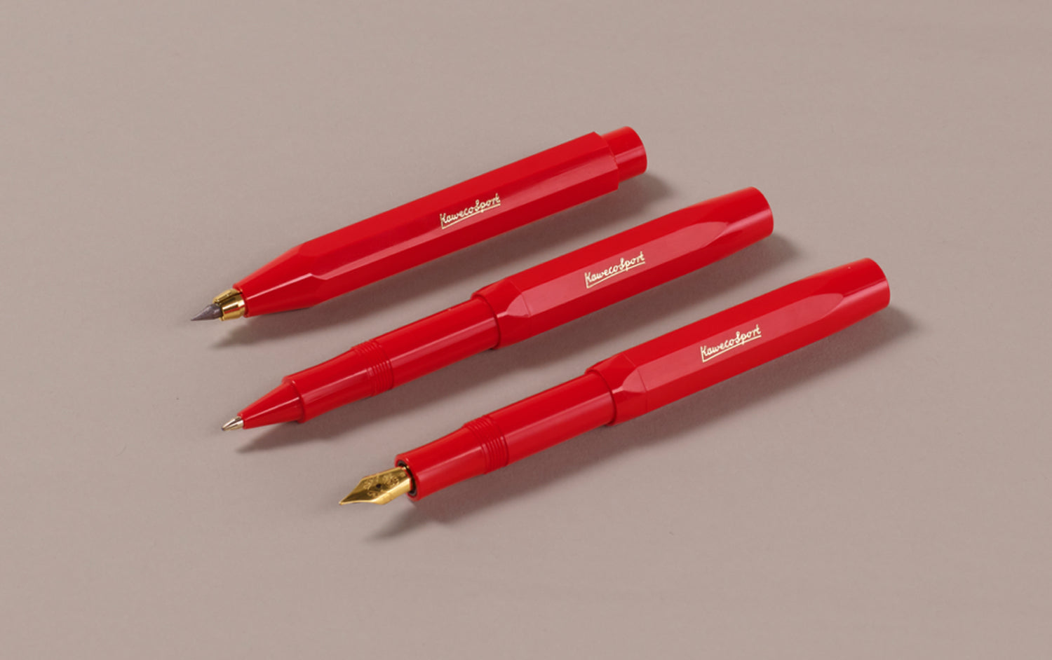 Bright Red Kaweco Classic Sport Rollerball Pen