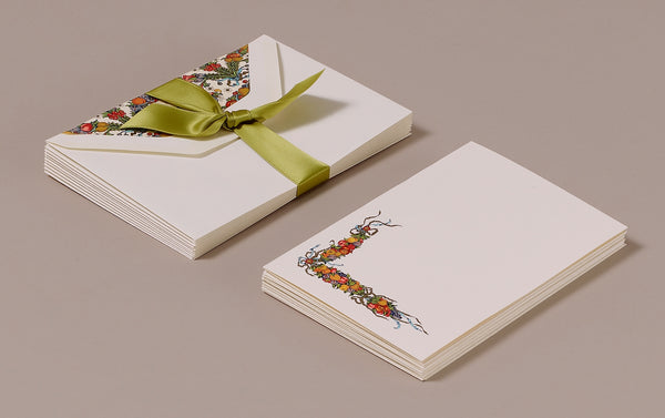 "10 Cards and Envelopes - Letter Writing Set ""Della Robbia"""